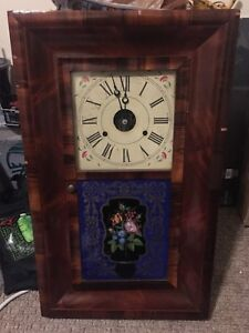 Jerome and co ogee clock (1892) for parts or repair