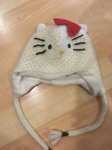 Knitted Hello Kitty Hat
