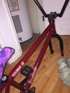 Fiend bmx bike