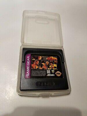 WWF Raw Sega Game Gear Video Game Cart☆ SAME DAY SHIPPING ☆