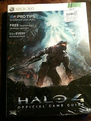 Halo 4 Xbox 360 /One Official Game Strategy Guide NEW and SEALED