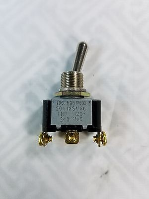 Heavy Duty 20a125v Spdt On-on On-momentary On Toggle Switch
