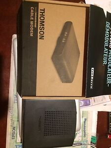 Thomson  câble  internet modem DCM47 5 for Teksavy ou Any