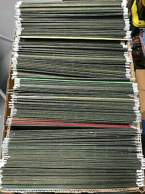 Lot Of 50 Green Hanging File Folders W Label Tabs Letter Size - Smead Staples