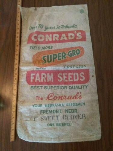 antique feed bag sack Conrad