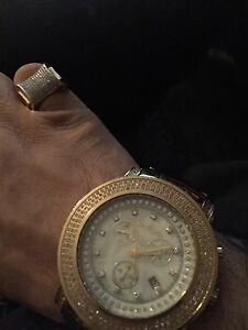 Real diamond ring And watch