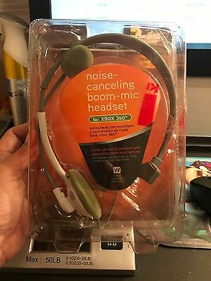 Alphaline Noise-Canceling Boom Mic Headset for XBOX 360 #42206 for sale  Longwood