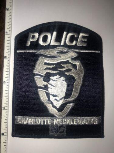 Charlotte-Mecklenburg North Carolina Police Shoulder Patch New collectible