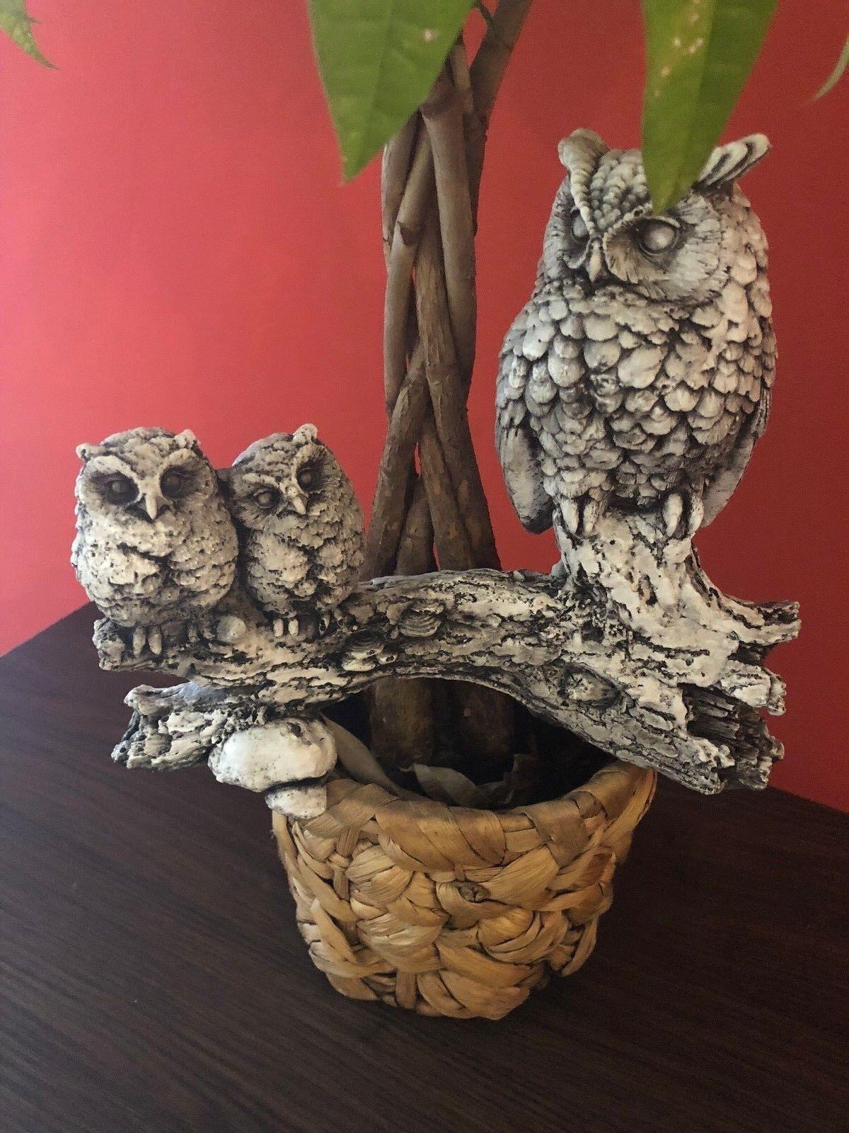 Eule,Uhu,, , Gartenfigur, Dekoration Vogel, Skulptur,