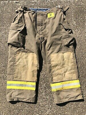 Morning Pride Fire Fighter Turnout Pants 46x29 Bunker Gear 2775