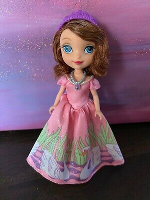 Disney Sofia the First Swan Dress Doll - Excellent Used Condition