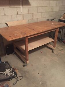 7ft workbench table