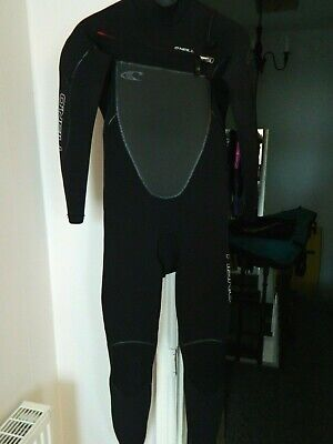 Mens O'Neill Pyrofreak Ltd Edition Wetsuit 4:3 Small Stitchless seam weld surf