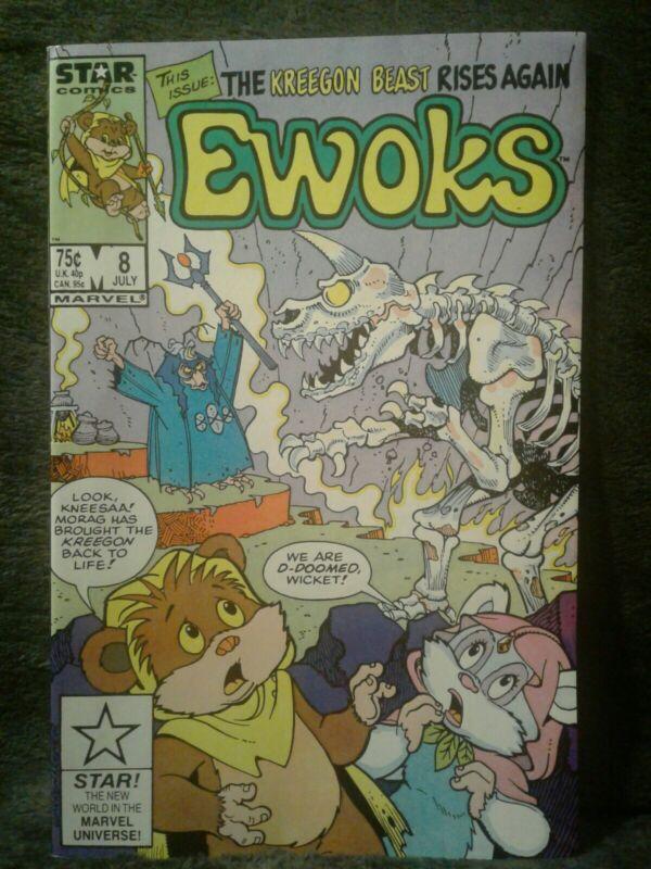 EWOKS  (STAR WARS) (1985 Series) #8 Comic Book Unread condition!!