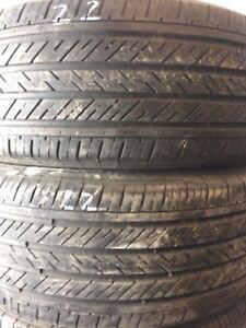 2 pneus été 225 50 17
