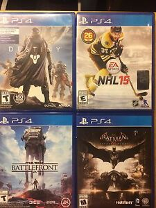 PS4 GAMES!!