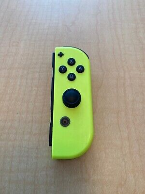 Genuine Nintendo Switch RIGHT Side Neon YELLOW Joy Con Controller Only! Tested!