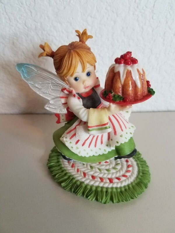 2008 My Little Kitchen Fairies Plum Puddin Fairie Enesco 4010980 No Box