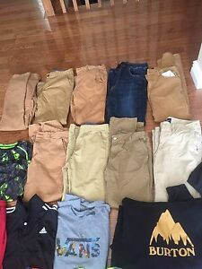 Bag of clothes for boy/man
