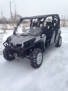 2014 can am commander 1000  max XT  like new
