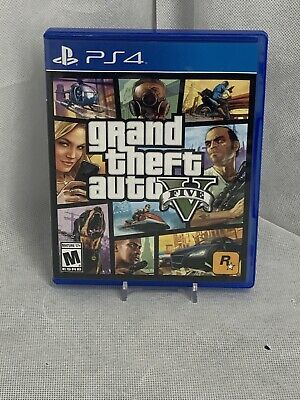 Grand Theft Auto V (Sony PlayStation 4, 2014) with Map