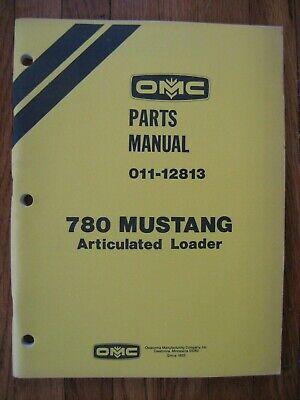 Mustang Omc 780 Loader Parts Catalog Manual
