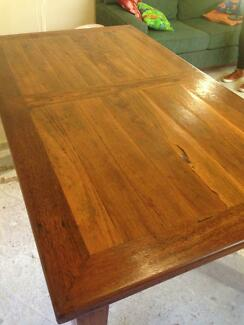 Hand crafted Spotted Gum & Tallowwood Dining Table Woolloomooloo Inner Sydney Preview