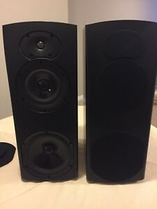 Athena Technologies 3 Way Speakers (made in Canada)