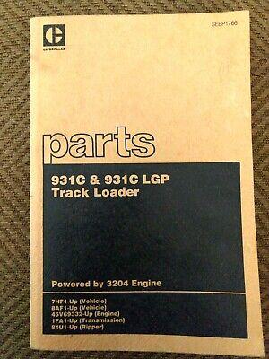 Cat 931c 931c Lgp Excavator Parts Catalog Manual Caterpillar 7hf1 Sebp1766