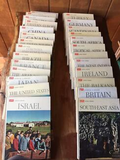27 Vintage Collectable 1960s Life World Library Books
