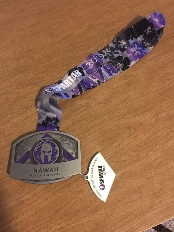 Spartan Race Hawaii Ultra Buckle Medal 2019