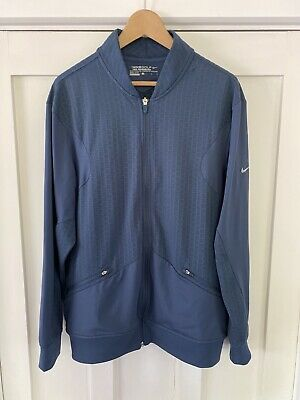 Nike Golf Tiger Woods Collection Dri-Fit Full Zip Top Men's Large