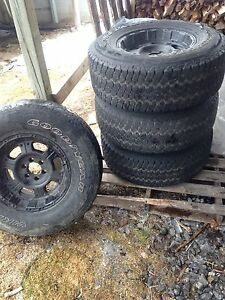 16 inch rims and tires