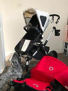 Bugaboo Cameleon 3 Full set in RED + Accessories Alexandria Inner Sydney Preview