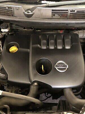 NISSAN QASHQAI J10 2008 1.5 DCI K9K ENGINE COVER ENGINE SHIELD