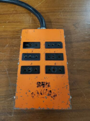 60A 60 Amp Male to 20A Female Stage Pin Woodhead Gangbox Distro