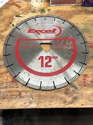Husqvarna Concrete Saw Blade Excel Red Series Xl12s50-3000 12 Blade .500 Width