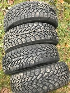195/60R15 winter tires Goodyear