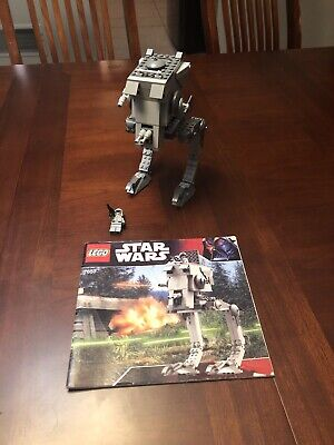 LEGO Star Wars #7657 AT-ST With Minifig And Instructions