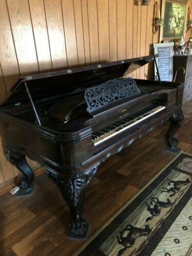 Very RARE Antique 1800s Square Grand Piano