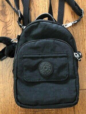 Kipling Mini Black Backpack