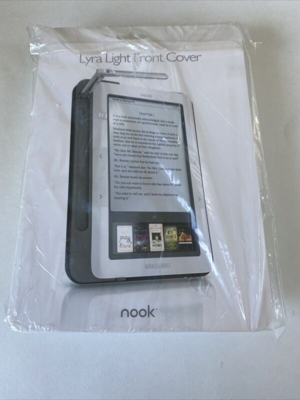 Nook Lyra Light Front Cover Reading Light BRAND NEW In Box - Barnes & Noble