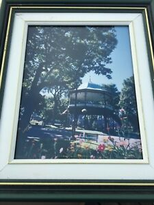Livingston Photo of the bandstand in King square.