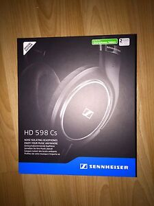 Sennheiser HD 598 Cs Special Edition Headphones LNIB