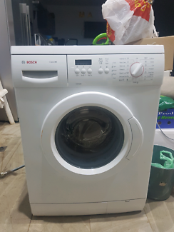 near new 65kg bosch washing machine urgent sale