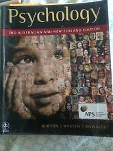 Psychology text by Burton 3rd ed Herston Brisbane North East Preview