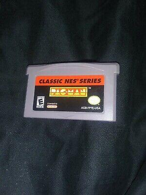 Classic NES Series: Pac-Man (Nintendo Game Boy Advance, 2004) Pac Man GBA