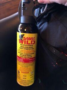 Bear Attack Deterrent Spray