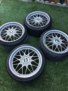 Genuine JDM Rays Volk Racing Evo4, 18x8.5 & 9.5 +40 225/35/18 Sydney City Inner Sydney Preview