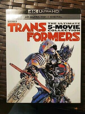 Transformers: The Ultimate 5 Movie Collection (4K Blu-ray/Blu-ray/No Digital)